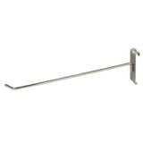 "DISPLAY HOOK, FOR GRID, 12""L, 1/4"" DIA WIRE, CHROME"