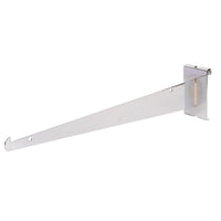 Shelf Bracket W/ Lip, For Grid, 14