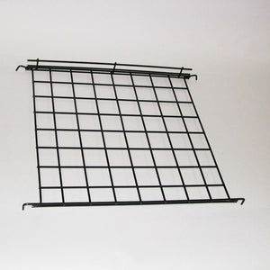 "Connecting Shelf, Hooks Between Two Parallel Grids, 24""W X 24""D, Black"