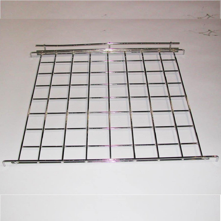 "Connecting Shelf, Hooks Between Two Parallel Grids, 24""W X 24""D, Chrome"
