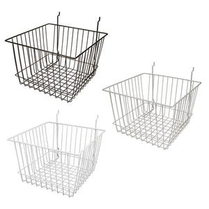 "Capitol Hardware All Purpose Deep Retail Display Basket, 12"" x 12"" x 8"""