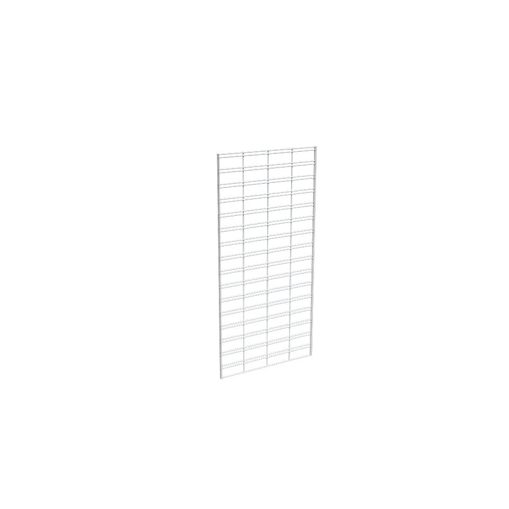 "Slatgrid Panel, 2' X 4', Wire 3"" X 6"" O.C., White"
