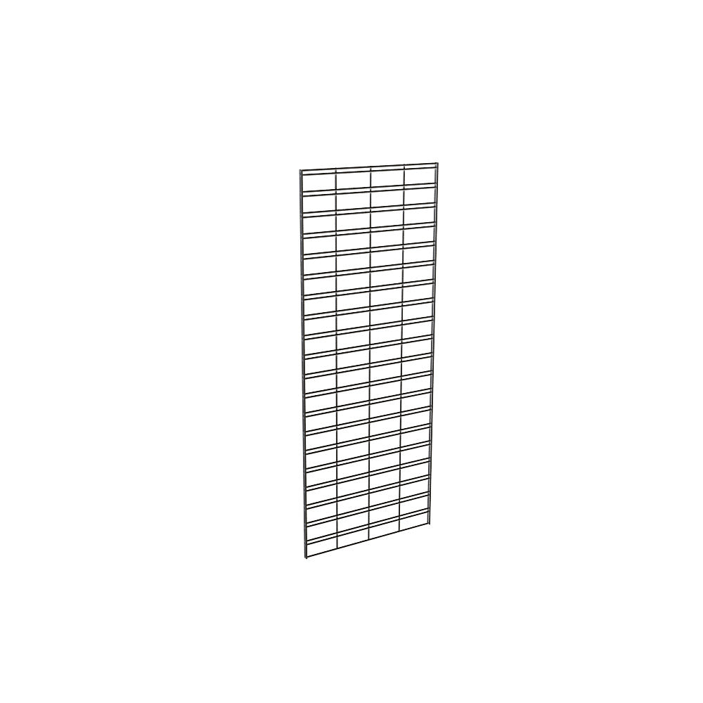 "Slatgrid Panel, 2' X 5', Wire 3"" X 6"" O.C., Black"