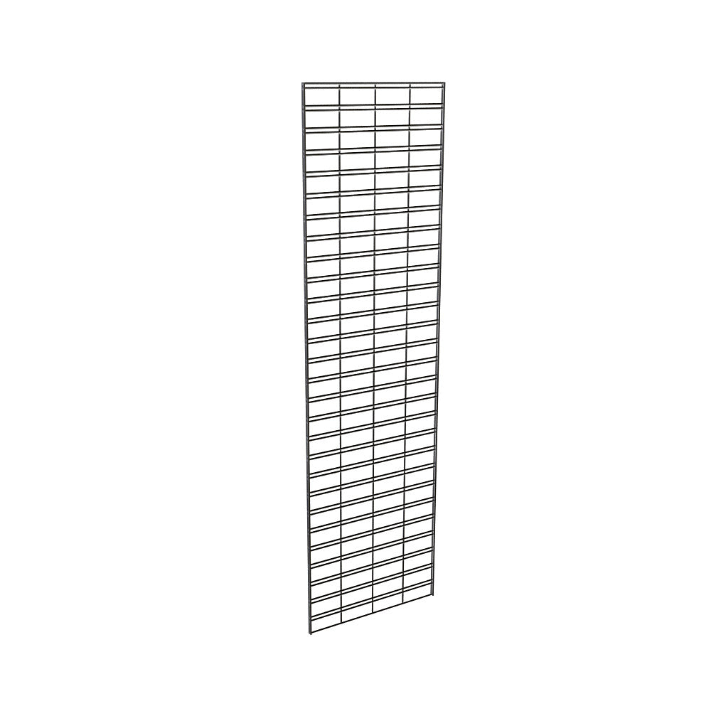 "Slatgrid Panel, 2' X 7', Wire 3"" X 6"" O.C., Black"