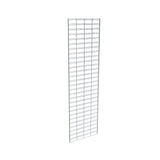"Slatgrid Panel, 2' X 7', Wire 3"" X 6"" O.C., Chrome"