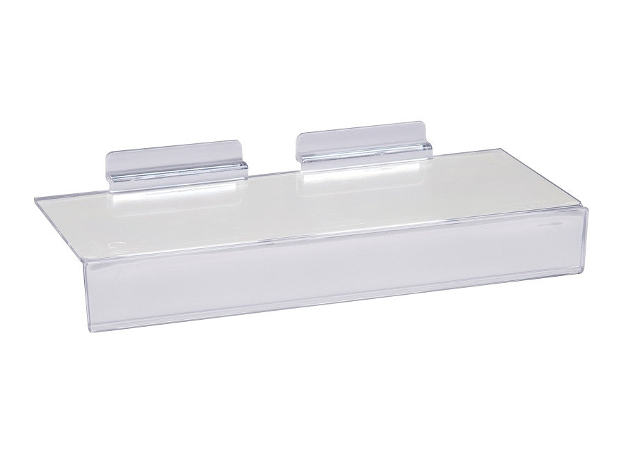 "Shelf, for Slatwall 4""D X 10""L W/ 1""H, Set of 100"