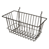 Capitol Hardware's All Purpose Narrow Retail Display Basket, 12