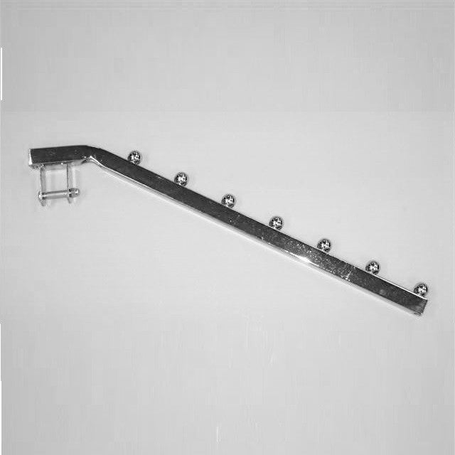"Add-On Arm For Square Tube Horizontal Mount, 16"", 7-Ball Waterfall"
