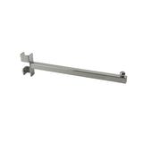 "Add-On Arm, For Sq Tube Vert Mount, 12"" Sq Tube Faceout W/ Ball Stop, Chrome"