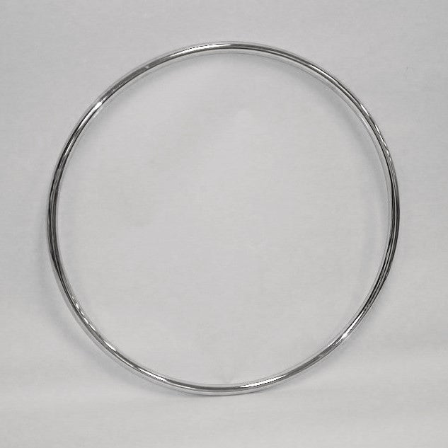 "36"" Dia Ring 1-1/4"" Diameter Tube in Chrome for Round Racks"