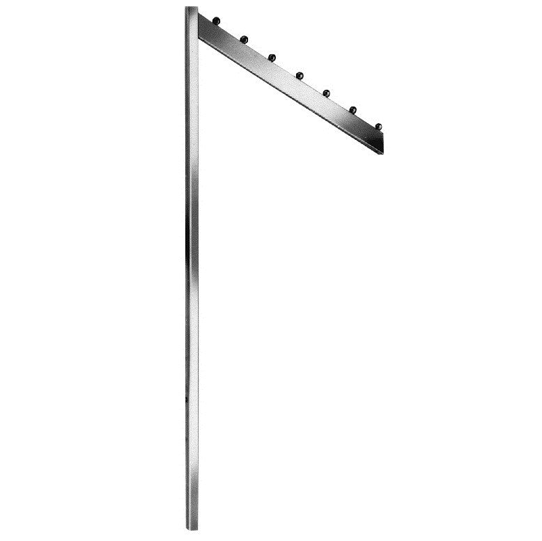 Replacement Arm For Sq Uprights, Rect Tube 7 Cube Waterfall, Chrome