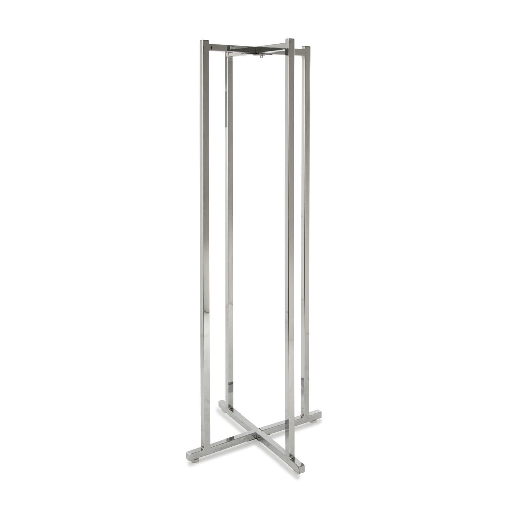 Base, Folding, For Lingerie Rack, Chrome