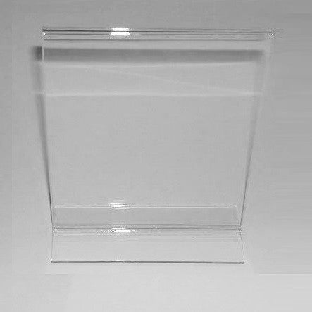 "Signholder, Counter Top, 11""H X 7""W Top Load Plexi"
