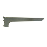 "Wood Shelf Bracket, Left-Hand, A-Line, 14"", Friction Fit, Chrome"