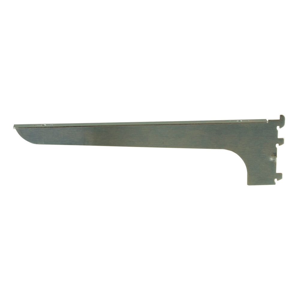 "Wood Shelf Bracket, Right-Hand, A-Line, 14"", Friction Fit, Chrome"