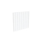 "Slatgrid Panel, 4' X 4', Wire 3"" X 6"" O.C., White"