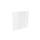 "Slatgrid Panel, 2' X 8', Wire 3"" X 6"" O.C., Chrome"