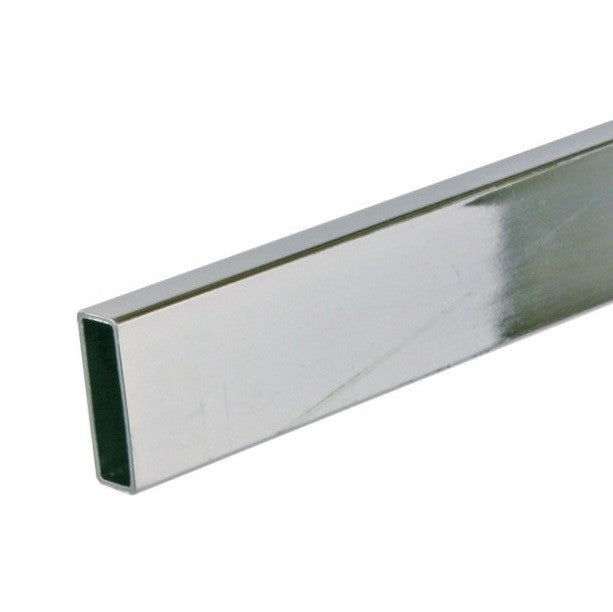 "Hangrail, Rectangular Tubing, 96""L, Chrome"