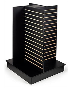 4-Way Retail Display Fixture, Black