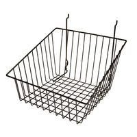 Capitol Hardware's All Purpose Shallow Front Retail Display Basket, 12
