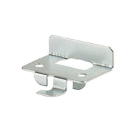 Shelf Rest, Front, with Lip, For B- and C-Line Brackets, Zinc