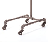 Pipeline 4-Leg Costume Rack, Anthracite Gray