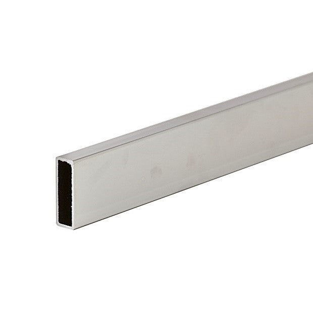 "Hangrail, Rectangular Tubing, 24""L, Satin Chrome"