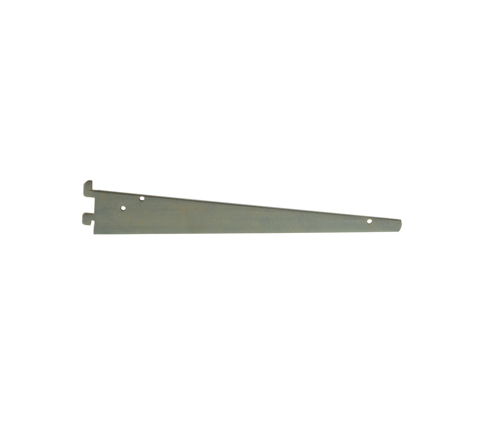 "Shelf Bracket for B-Line, 12"", Friction Fit, Zinc"