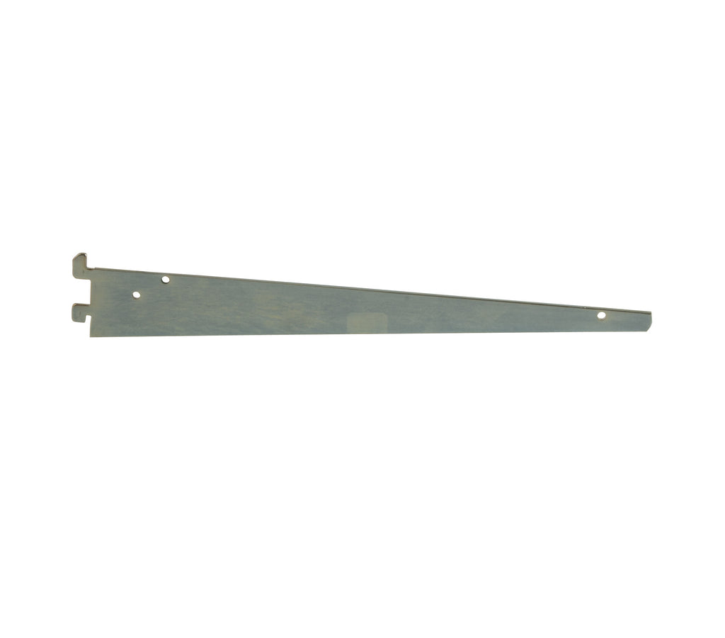 "Shelf Bracket for B-Line, 14"", Friction Fit, Zinc"