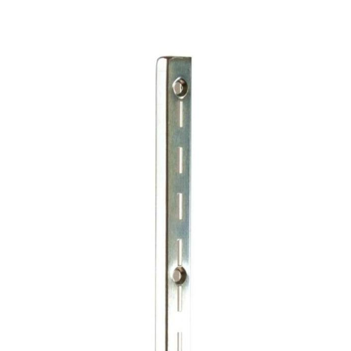 SLOTTED WALL STANDARD, A-LINE, 13 GA (.092 THK), CHROME - 96""