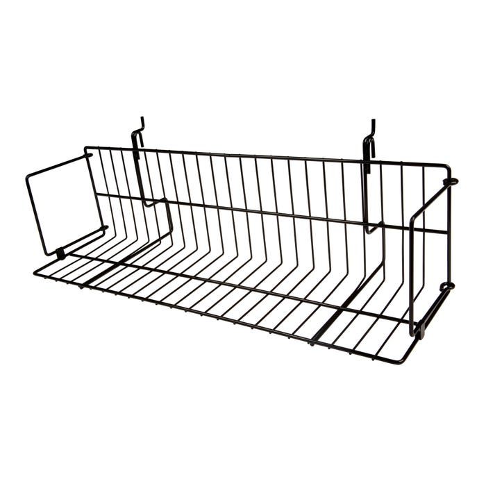 "Capitol Hardware All Purpose Small Wire Shelf, 6½""D x 6½""H x 26""L"