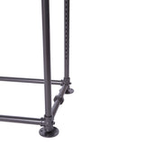 "Pipeline Freestanding Merchandiser, 94"" x 20"" x 48"", Anthracite Grey"