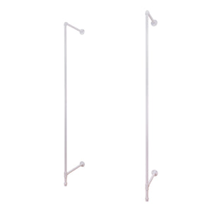 Pipeline Outrigger Wall Unit, Set of 2, White