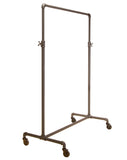 Pipeline Adjustable Ballet Rack in Anthracite Gray Finish