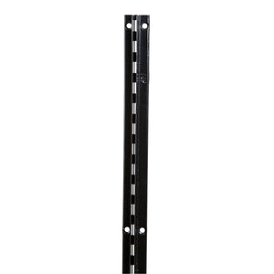 "Recessed Standard, B-Line, w 11/16'' Lip, 72"", Black"