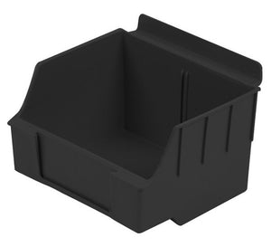 Slatbox Storage Bin, Storebox Series, Black