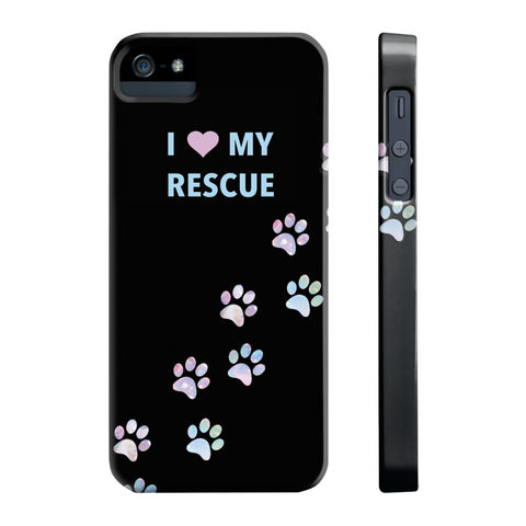 Slim Iphone 5/5s/5se I Love My Rescue