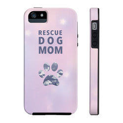 Tough Iphone 5/5s/5se Rescue Dog Mom