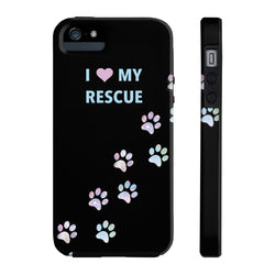 Tough Iphone 5/5s/5se I Love My Rescue