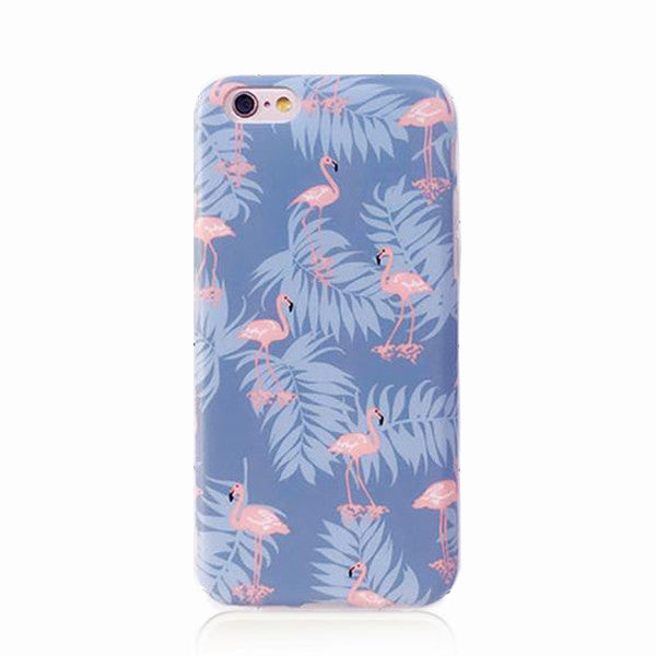 Purple Tropical Case for iPhone 6s+