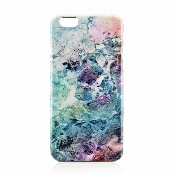 Green Galaxy Marble Case for iPhone 7 7plus 6 6S 6plus