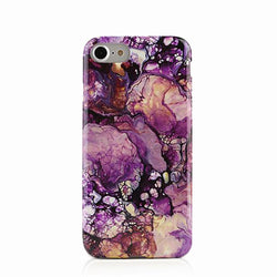 Purple Galaxy Marble iPhone 6 6s 6s/7 7 Plus