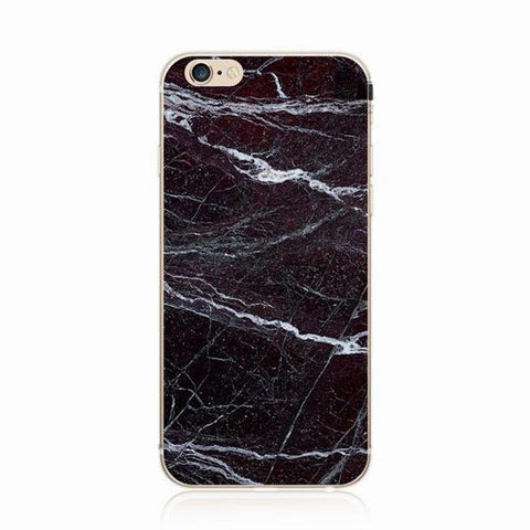 Black Shell Case for iPhone 6 6s 6s Plus 7 7 Plus