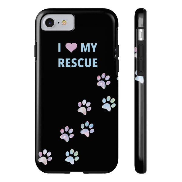 Tough iPhone 7 I Love My Rescue