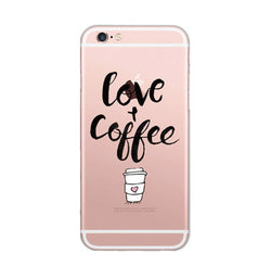 Love Coffee Case for iPhone 5s 6 | 6s | 6s+ | 7 | 7+
