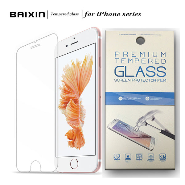 HD Clear Tempered Glass Screen Protector for iPhone