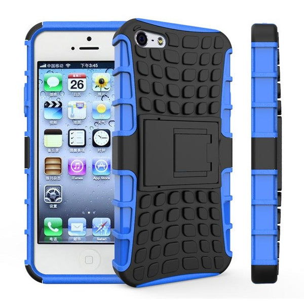 Shockproof Rubber Case for iPhone 5 | 5s | SE | 6 | 6s | 6s+ | 7 | 7+