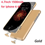 Portable Charger Case For iPhone 6 6s 7 7 Plus