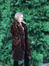 "PIECED MINK ""PHER"" COAT"