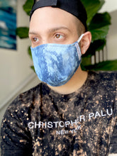 5 Pack Blue Denim Face Masks